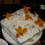 ムンさんのお手製のケーキ